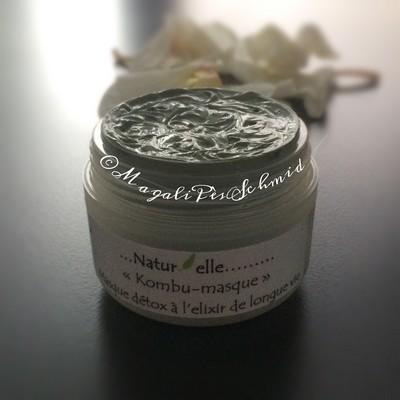 kombu masque masque d tox probiotique l 39 argile verte et l 39 lixir de longue vie. Black Bedroom Furniture Sets. Home Design Ideas